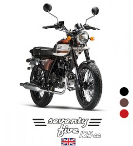 Mash seventy five 125 en vente au garage Rock and Road à Genève