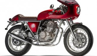 MASH - 400 TT40 CAFE RACER red Une marque moto Rock and Road (Genève)