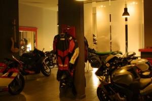 Vu du garage Rock & Road à Genève.