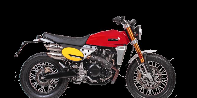 Moto Fantic Caballero Scrambler 500