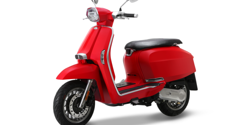 Scooter Lambretta V Special 125 Rouge