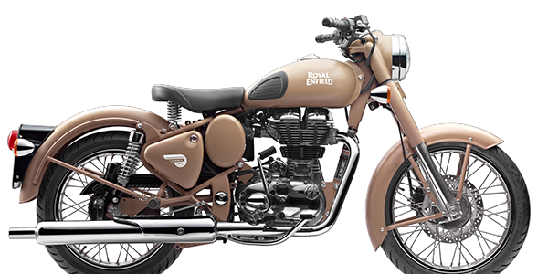 Moto Royal Enfield Classic Desert Storm