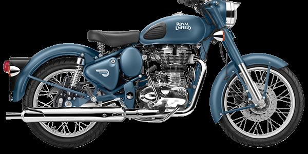 Moto Royal Enfield Classic Squadron Blue