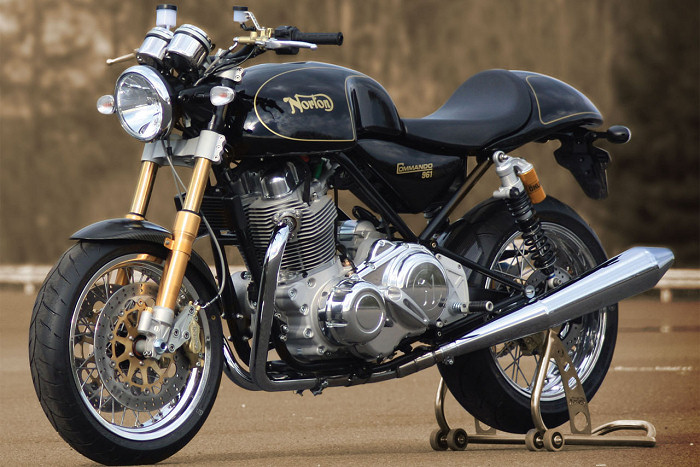 Norton Commando en location au garage Rock and Road